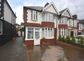 Thumbnail 3 bed semi-detached house for sale in Thurlestone Avenue, London