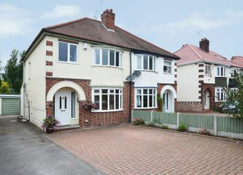 Thumbnail 3 bed semi-detached house for sale in Sandon Road, Stafford