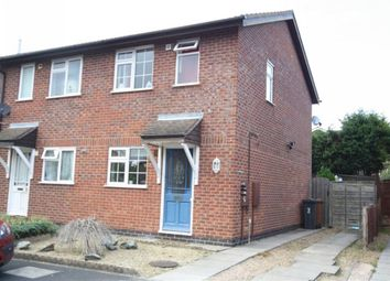 Thumbnail 2 bed property to rent in Gosford Drive, Hinckley, Leicestershire