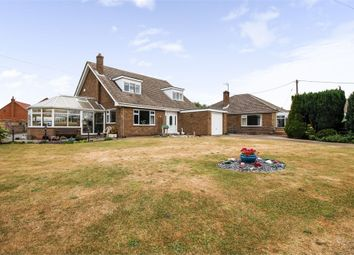 Thumbnail 4 bed detached bungalow for sale in Carr Lane, Blyton, Gainsborough, Lincolnshire