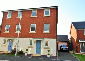 Thumbnail 3 bed semi-detached house for sale in Henrys Run, Cranbrook, Exeter