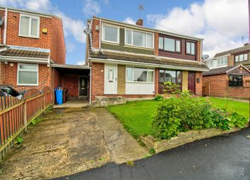 Thumbnail 3 bed semi-detached house for sale in Reaper Crescent, High Green, Sheffield