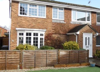 Thumbnail 3 bed semi-detached house for sale in Lakeside, Snodland