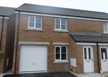 Thumbnail 3 bed semi-detached house for sale in Heol Cae Pownd, Cefneithin, Llanelli