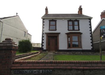 Thumbnail 3 bed detached house to rent in Llwyn Crwn Road, Llansamlet, Swansea.