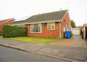 Thumbnail 2 bed semi-detached bungalow for sale in St. Lawrence Avenue, Snaith