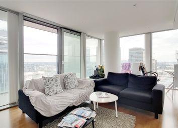 Thumbnail 2 bed flat to rent in Landmark East, 24 Marsh Wall, London