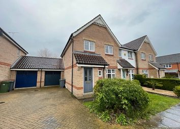 Thumbnail 3 bed semi-detached house to rent in Evans Way, Old Catton, Norwich