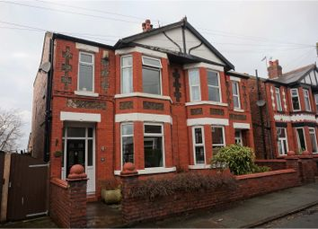 Thumbnail 3 bedroom semi-detached house for sale in Carlton Avenue, Romiley