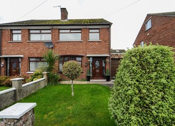 Thumbnail 3 bed semi-detached house for sale in Ballyregan Park, Dundonald, Belfast