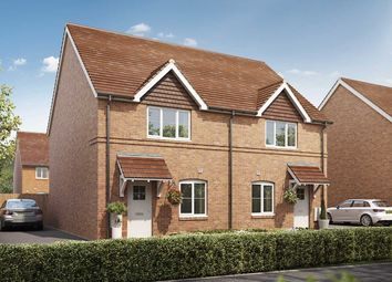 """Thumbnail 2 bed semi-detached house for sale in """"The Fontwell"""" at Yapton Lane, Walberton, Arundel"""