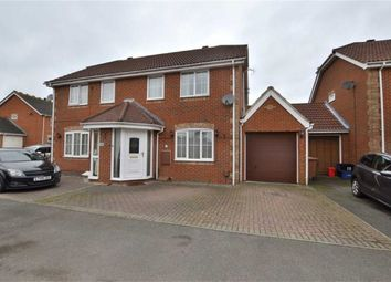 Thumbnail 3 bed semi-detached house for sale in Trajan Gate, Chells Manor, Stevenage, Herts