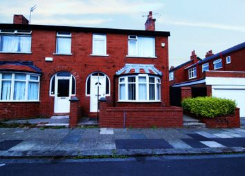 Thumbnail 3 bed semi-detached house for sale in Larbreck Avenue, Blackpool, Lancashire