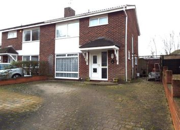 Thumbnail 3 bed semi-detached house for sale in Severn Way, Bedford, Bedfordshire