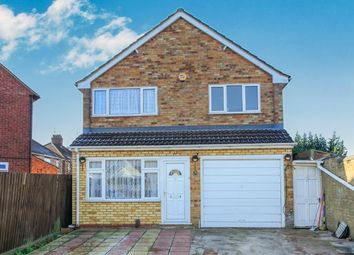 Thumbnail 4 bedroom detached house for sale in Warbon Avenue, Peterborough, Cambridgeshire, United Kingdom