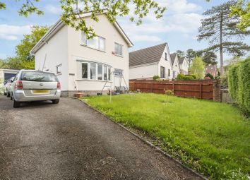 Thumbnail 4 bed detached house for sale in Manor Road, Risca, Newport