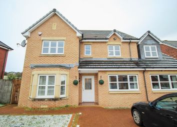 Thumbnail 5 bedroom detached house to rent in Deaconsgrange Road, Thornliebank, Glasgow