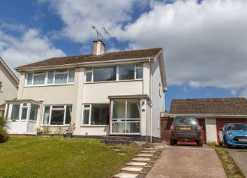 Thumbnail 3 bed semi-detached house for sale in School Lane, Tedburn St. Mary, Exeter