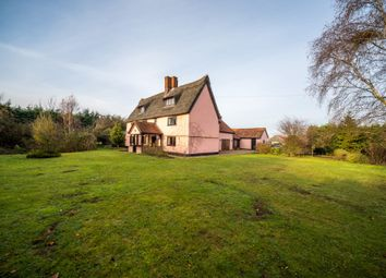 Thumbnail 7 bed detached house for sale in Bell Green, Cratfield, Halesworth, Norfolk
