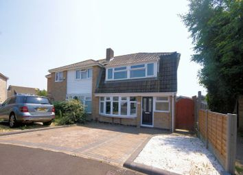 Thumbnail 3 bed semi-detached house for sale in Sandcroft Close, Gosport