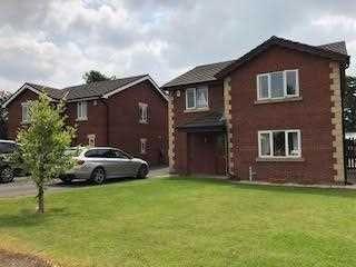 Thumbnail 4 bed detached house to rent in Bradshaw Close, Stalmine, Poulton Le Fylde
