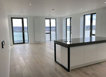 Thumbnail 3 bed flat to rent in Royal Wharf, North Woolwich Road, London