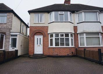 Thumbnail 3 bed semi-detached house for sale in Edgemond Avenue, Erdington, Birmingham