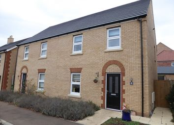 Thumbnail 3 bed semi-detached house for sale in Buttercup Drive, Downham Market