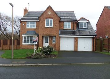 Thumbnail 4 bedroom detached house for sale in Swift Close, Blackpool, Lancashire