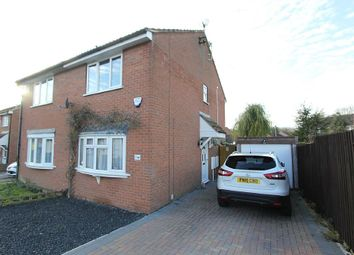 Thumbnail 2 bed semi-detached house for sale in Stoneywell Road, Leicester, Leicestershire