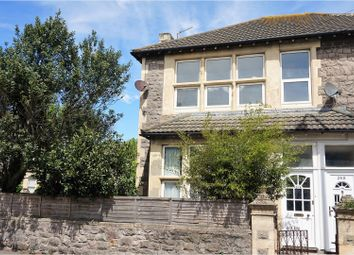 Thumbnail 2 bed flat for sale in Clevedon Road, Weston-Super-Mare