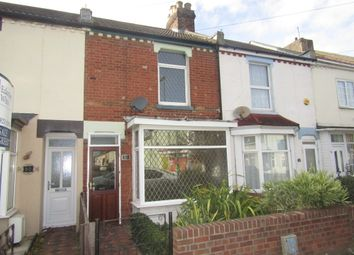Thumbnail 2 bed terraced house to rent in Whitworth Road, Gosport