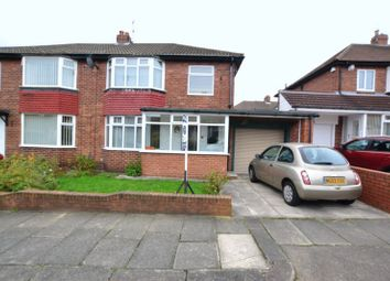 Thumbnail 3 bed semi-detached house for sale in Slingsby Gardens, High Heaton, Newcastle Upon Tyne