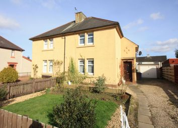 Thumbnail 2 bedroom semi-detached house for sale in Woodlands Crescent, Bothwell, Glasgow