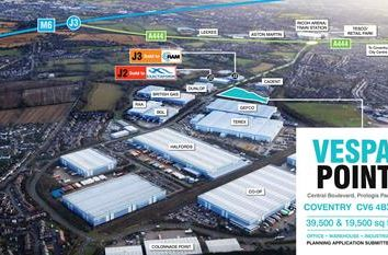Thumbnail Light industrial for sale in Unit 2 Vespa Point (Plot A2), Prologis Park, Coventry, West Midlands