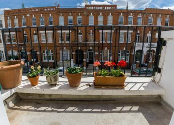 Thumbnail 3 bed flat to rent in Perham Road, Barons Court, London
