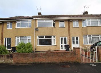 Thumbnail 3 bed terraced house for sale in Queensholm Drive, Bromley Heath, Bristol