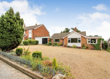Thumbnail 3 bed detached bungalow for sale in Snows Lane, Chedgrave, Norwich