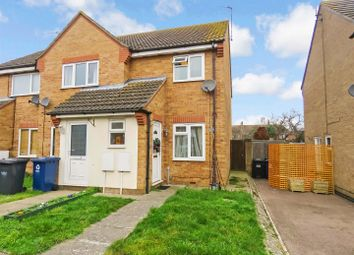 Thumbnail 2 bed end terrace house for sale in Orchard Close, Warboys, Huntingdon