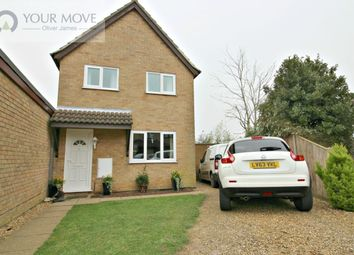 Thumbnail 3 bed detached house for sale in Field View Gardens, Beccles