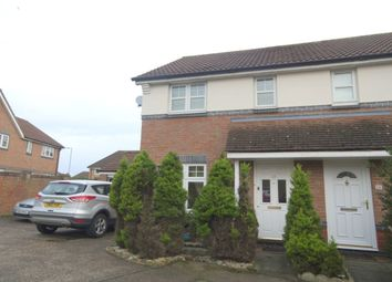 Thumbnail 2 bedroom semi-detached house for sale in Wheatacre Close, Horsford, Norwich