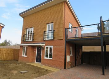 Thumbnail 2 bed property to rent in Forbes Drive, Hempsted, Peterborough