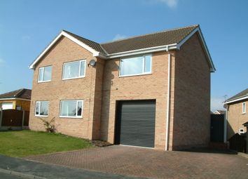 Thumbnail 5 bed detached house for sale in Sharlston Gardens, Rossington, Doncaster