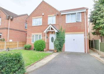 Thumbnail 4 bed detached house for sale in Holly Close, Scunthorpe