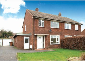 Shepherds Lane, Rickmansworth, Hertfordshire WD3. 3 bed semi-detached house