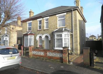 Thumbnail 3 bedroom semi-detached house for sale in Regent Avenue, March