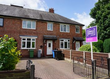 Thumbnail 3 bed terraced house for sale in Woodstock Road, Altrincham