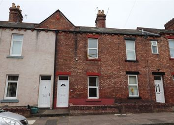Thumbnail 2 bed terraced house for sale in Monksclose Road, Off Wigton Road, Carlisle, Cumbria