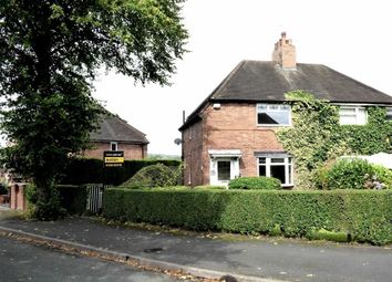 Thumbnail 2 bed semi-detached house for sale in Wain Avenue, Poolfields, Newcastle-Under-Lyme