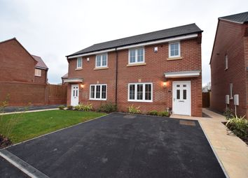 Thumbnail 3 bed semi-detached house to rent in Dudley Drive, Highfields, Littleover